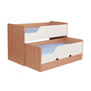 Двухъярусные кровати в детском саду