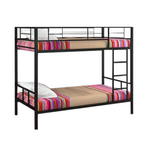 Двухъярусные кровати металлические