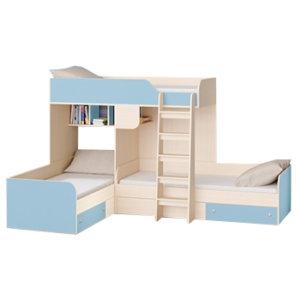 Двухъярусные кровати для троих