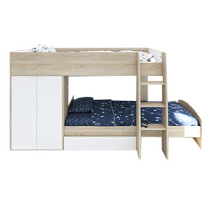 Кровати для двоих со смещением