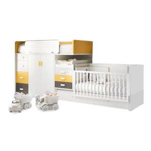 Двухъярусные кровати для новорожденных