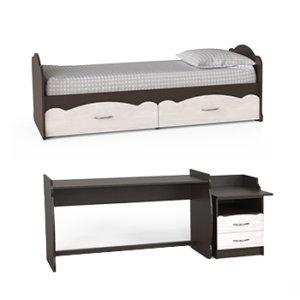 Кроватки трансформеры 3 в 1