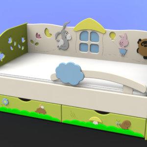 сколько стоят детские кроватки