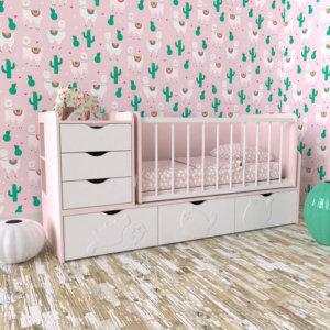 размер кроватки детской