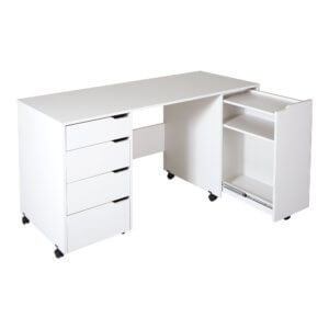 Маникюрные столы на две тумбы