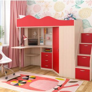 купить детскую кровать в украине недорого