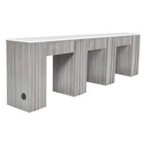 Маникюрные столы для троих мастеров