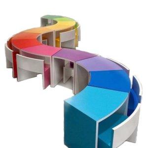 Детские модульные столы