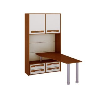 Шкаф со столом