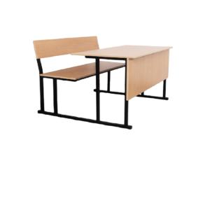 Двухместная парта и стул