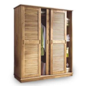 Шкафы с жалюзийными дверцами